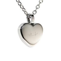 Classic Heart Pendant (SS)